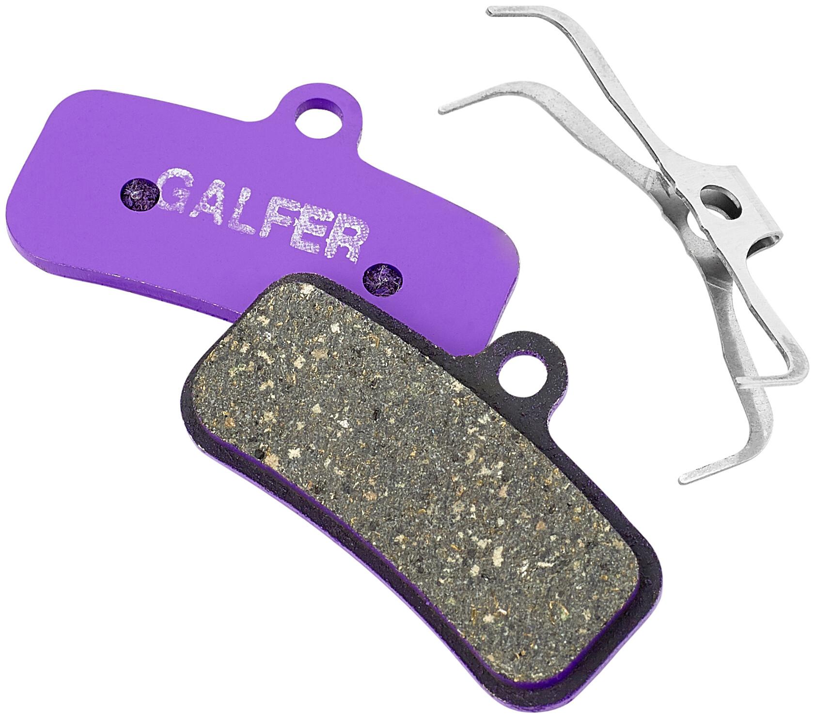 RSC and Guide Re brakes GALFER BIKE Purple e-bike compound pads for Avid Code R
